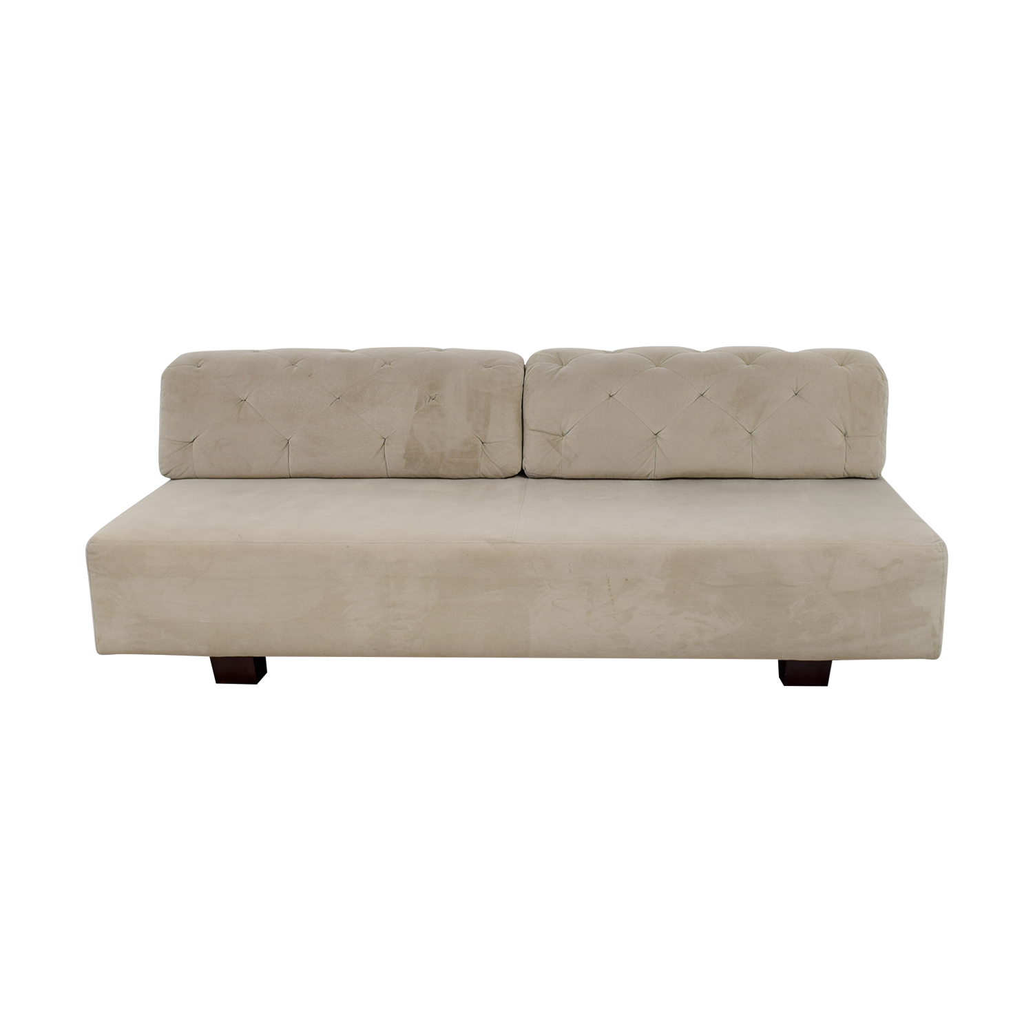 shop West Elm West Elm Beige Tuffed Sofa online