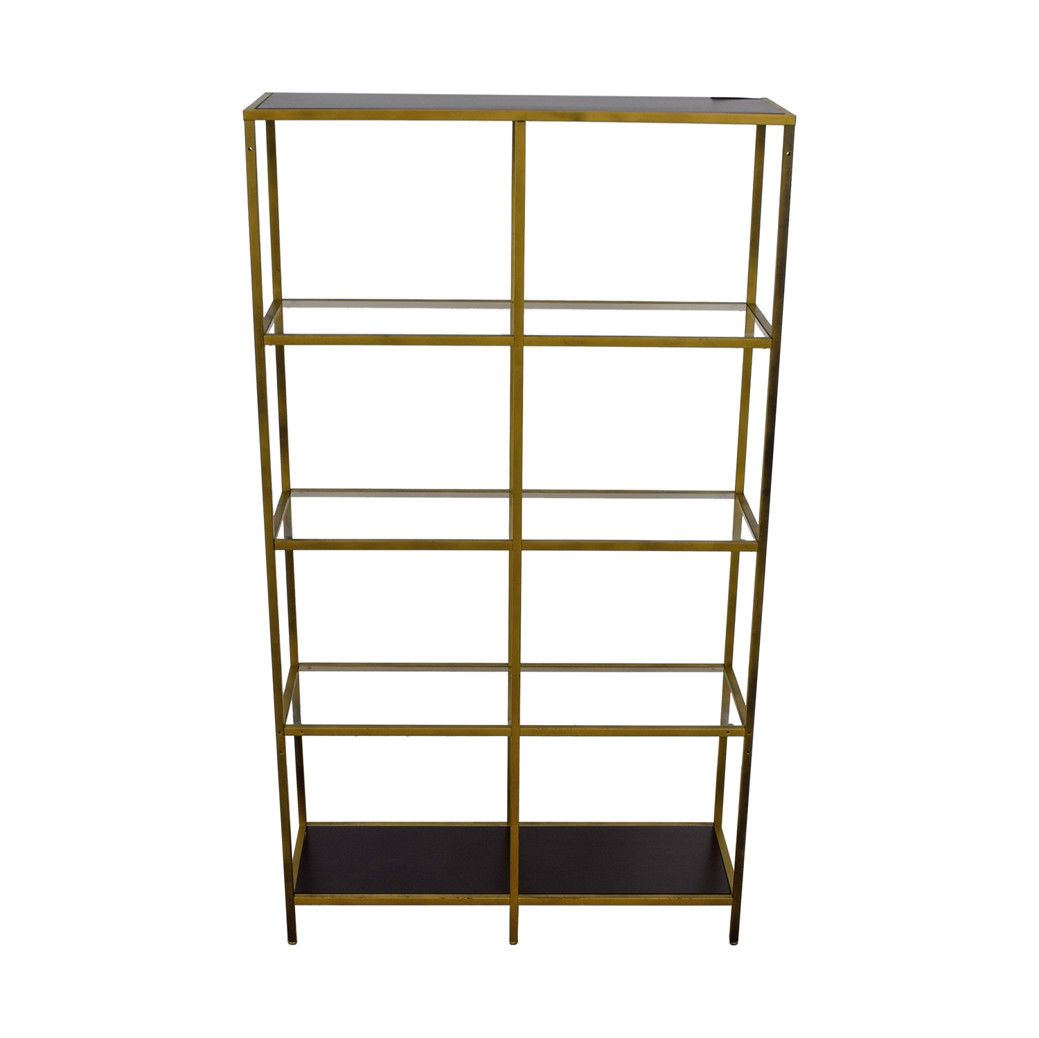 IKEA IKEA Glass Bookcase bronze