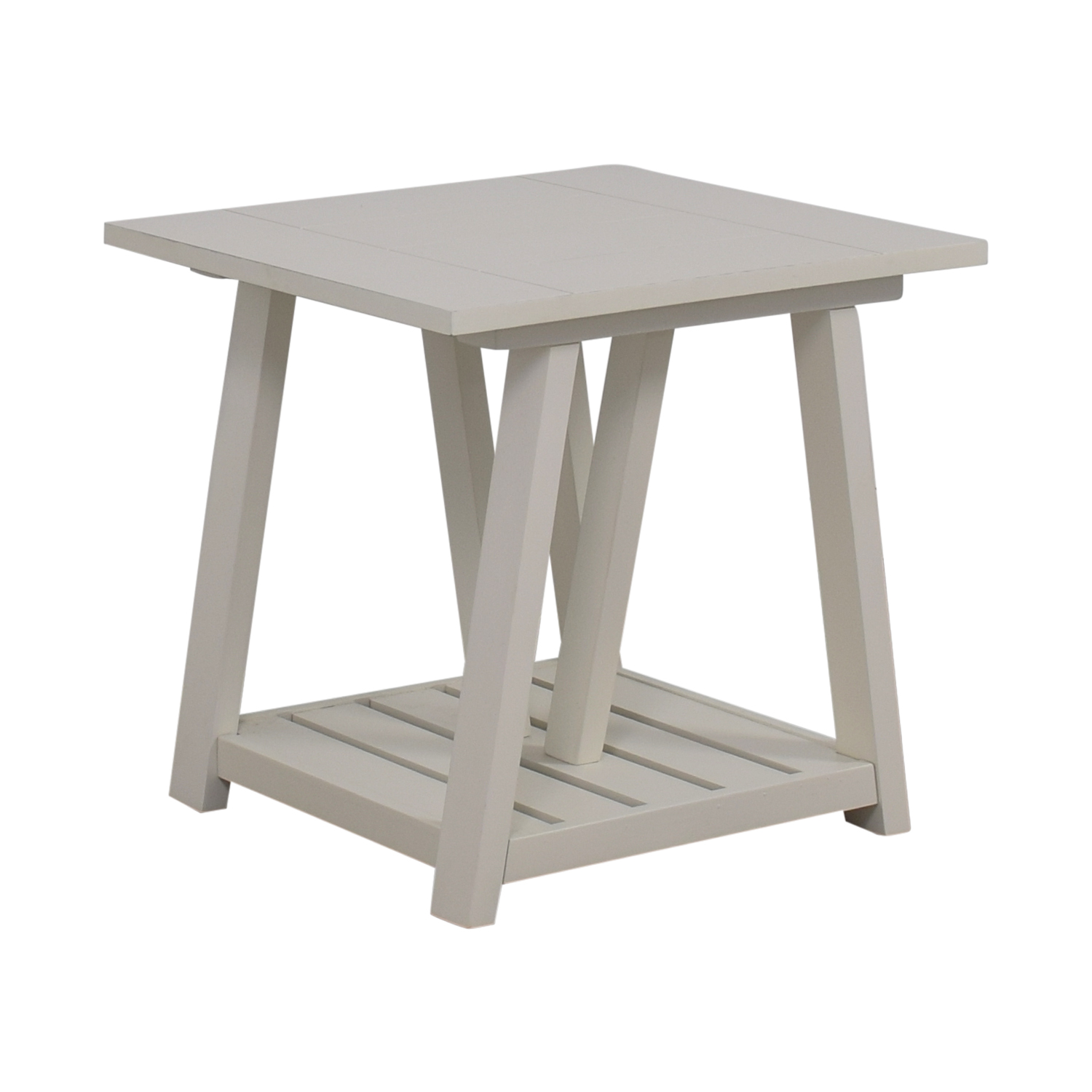 Birch Lane Birch Lane Fairborne White Side Table on sale