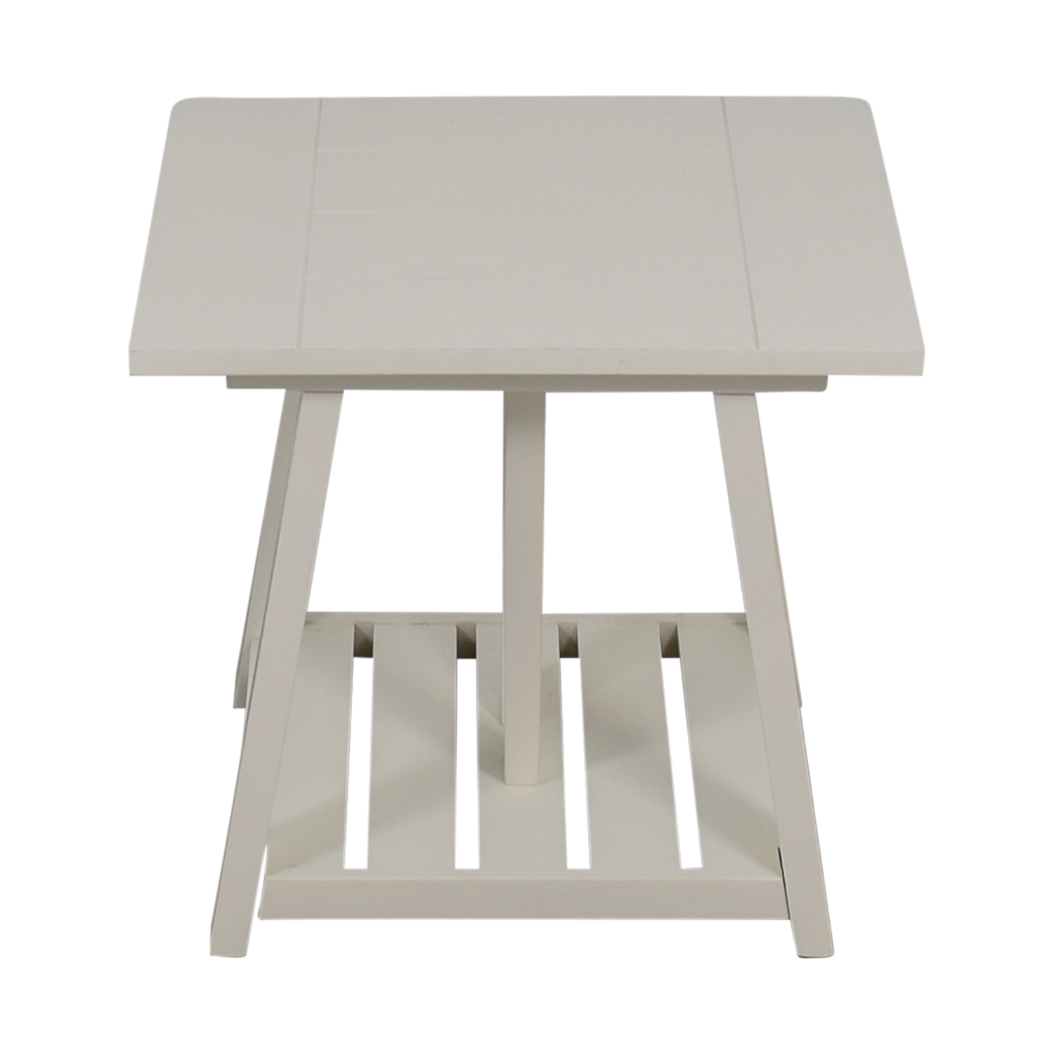 Birch Lane Birch Lane Fairborne White Side Table End Tables