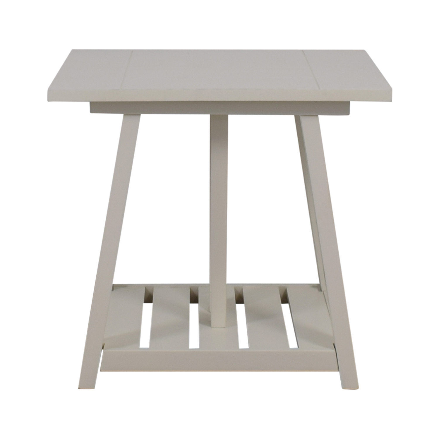 Birch Lane Birch Lane Fairborne White Side Table used