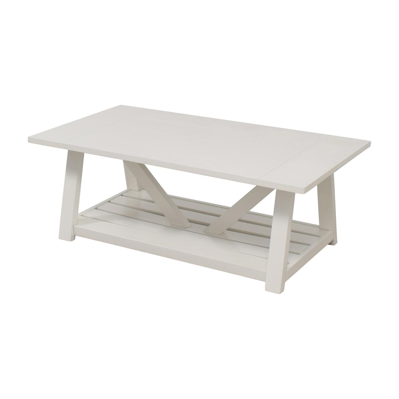 Birch Lane Fairborne White Coffee Table / Coffee Tables