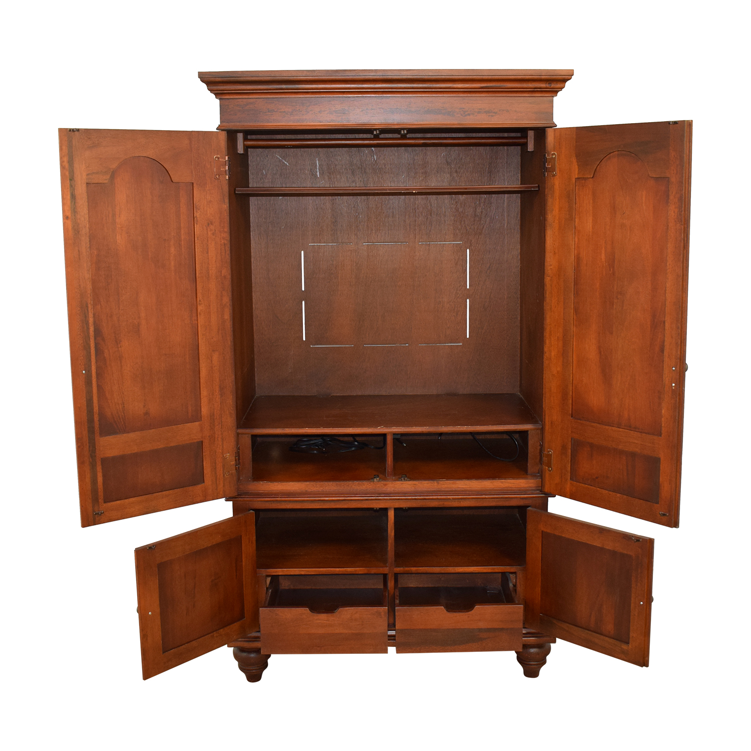 Hamilton Heritge Hamilton Heritge Wood TV Armoire for sale