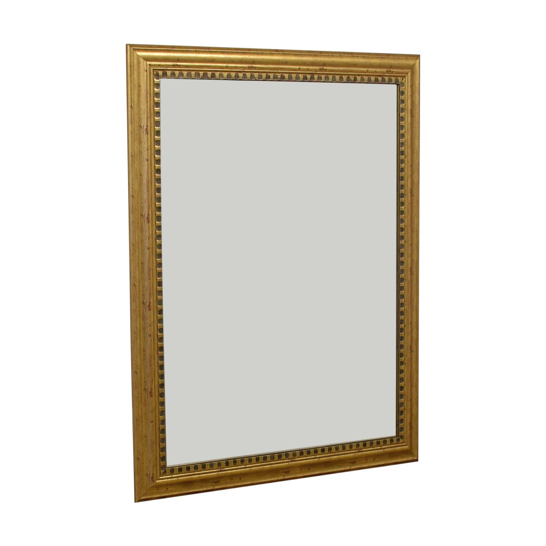 John Lewis John Lewis Gold Gilded Mirror used
