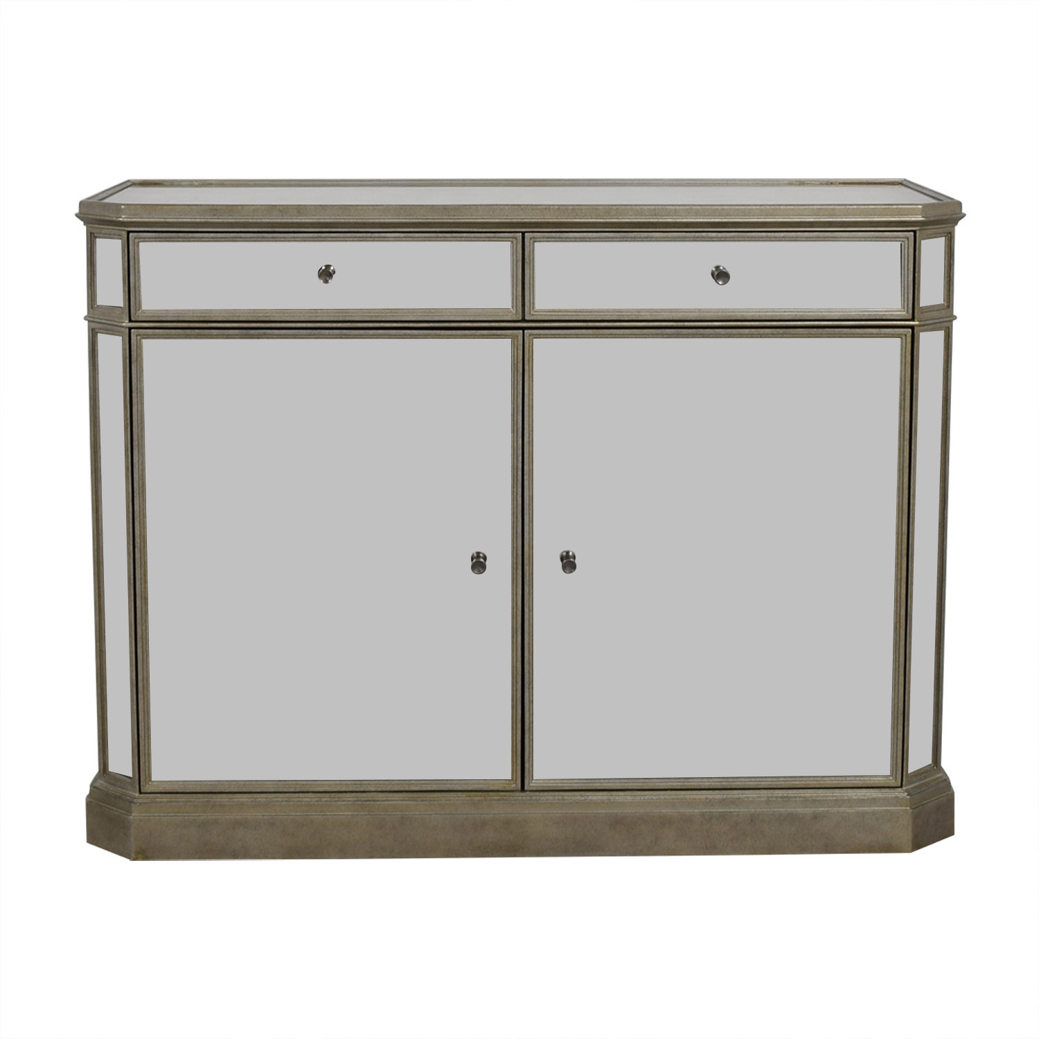 Restoration Hardware Restoration Hardware Mirrored Cabinet nyc