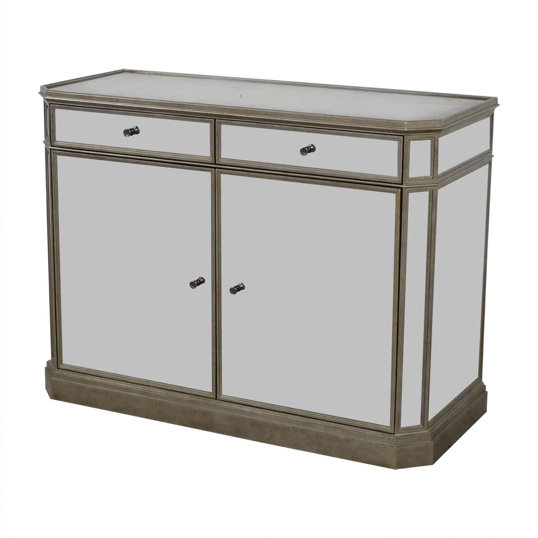 shop Restoration Hardware Restoration Hardware Mirrored Cabinet online