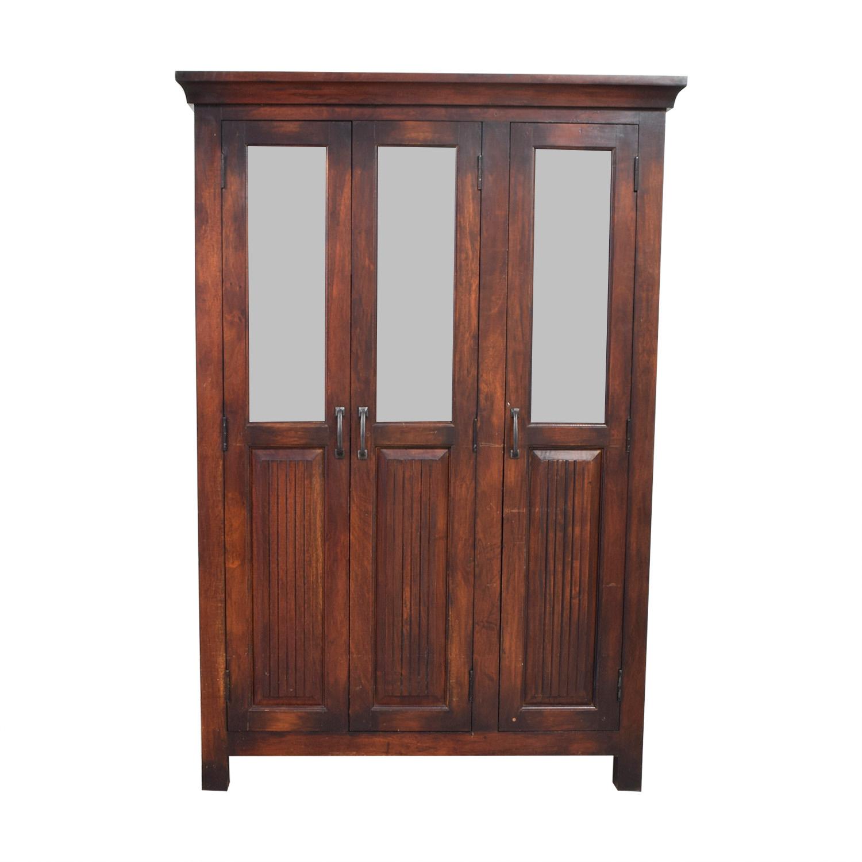 Crate & Barrel Crate & Barrel Wood China Cabinet dimensions