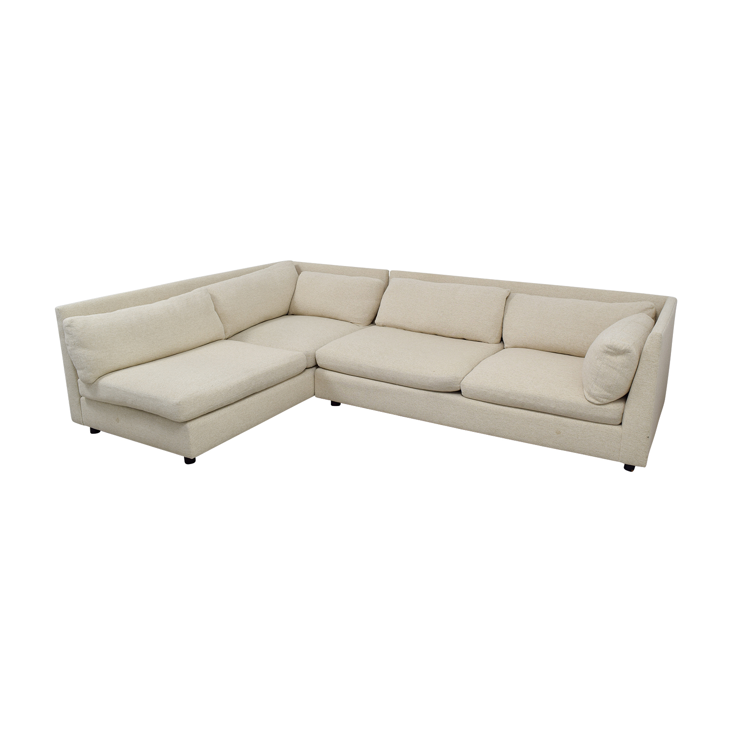 Mitchell Gold + Bob Williams Beige L-Shaped Sectional Mitchell Gold + Bob Williams