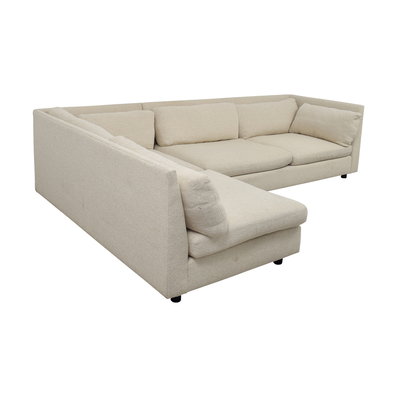 Mitchell Gold + Bob Williams Mitchell Gold + Bob Williams Beige L-Shaped Sectional nyc