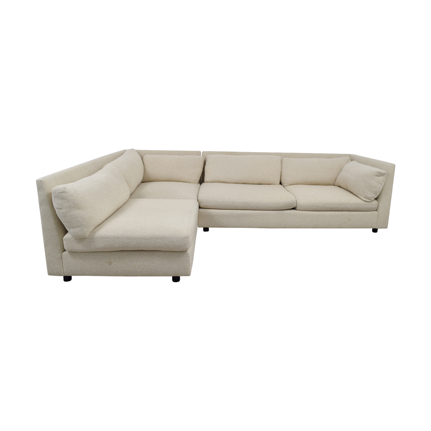 Mitchell Gold + Bob Williams Mitchell Gold + Bob Williams Beige L-Shaped Sectional Sectionals