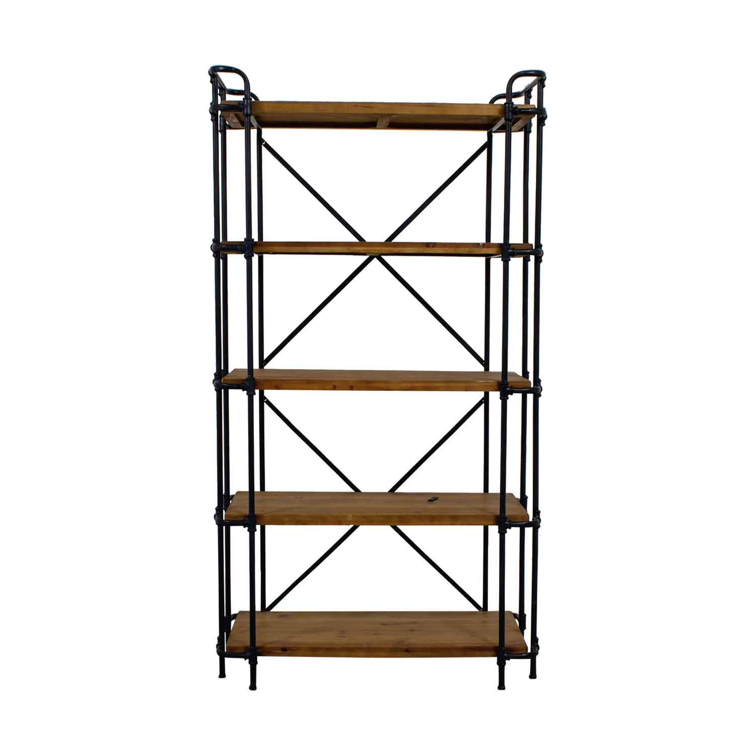 Joss & Main Industrial Etagere Bookcase / Storage