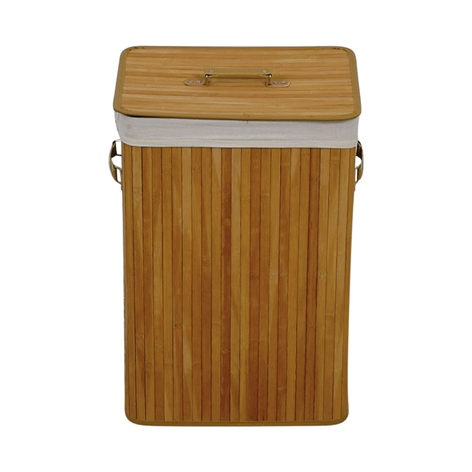 Giantex Giantex Natural Bamboo Laundry Hamper Beech
