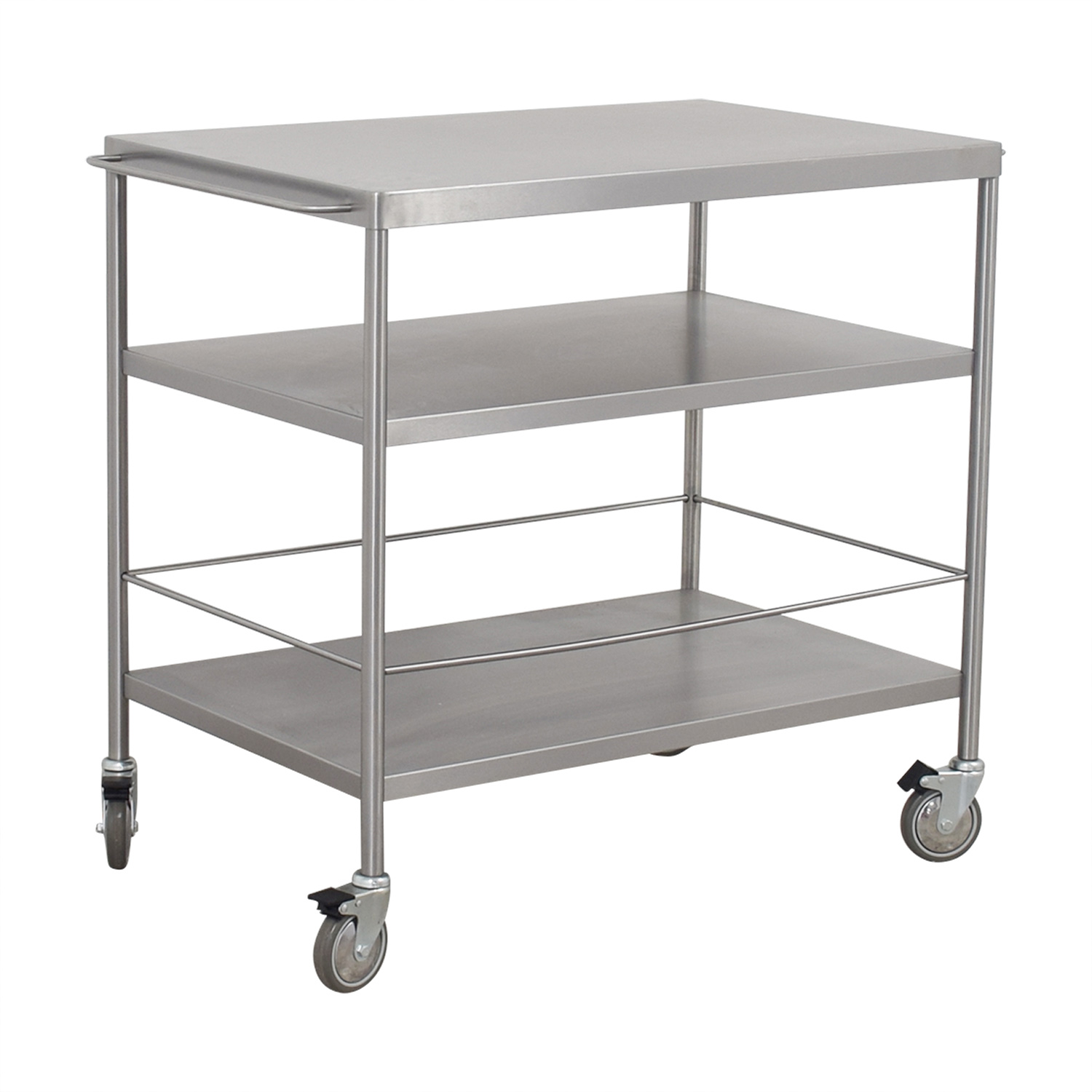 Ikea Tables Kitchen: IKEA IKEA Stainless Steel Kitchen Cart / Tables