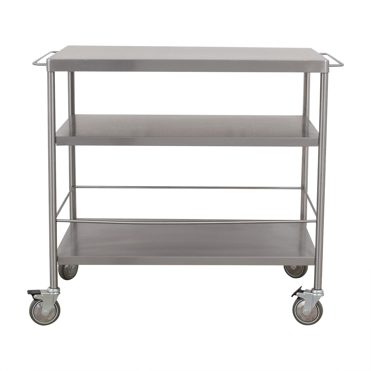 IKEA IKEA Stainless Steel Kitchen Cart ...