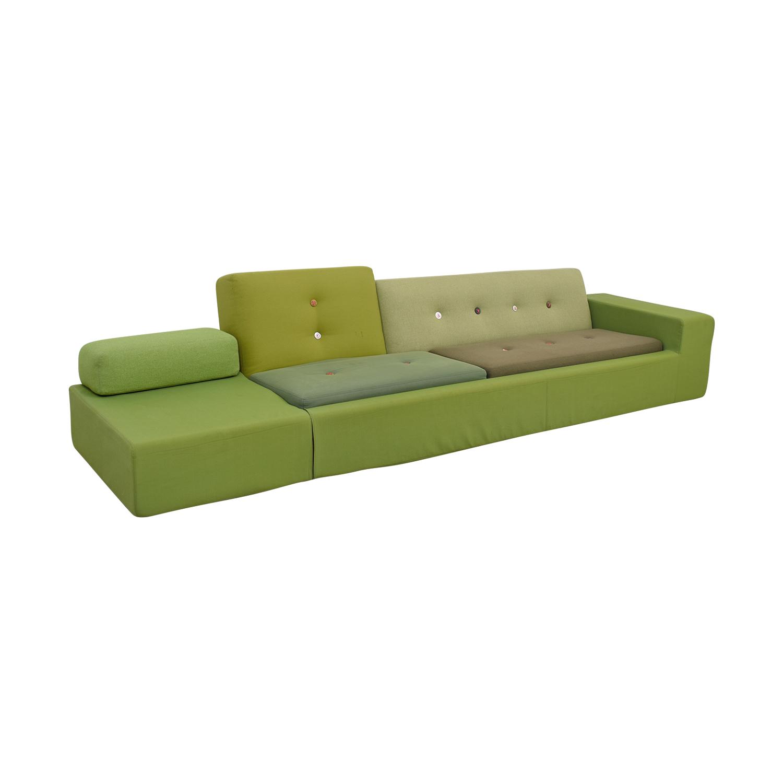 shop Vitra Polder Sofa by Hella Jongerius Vitra