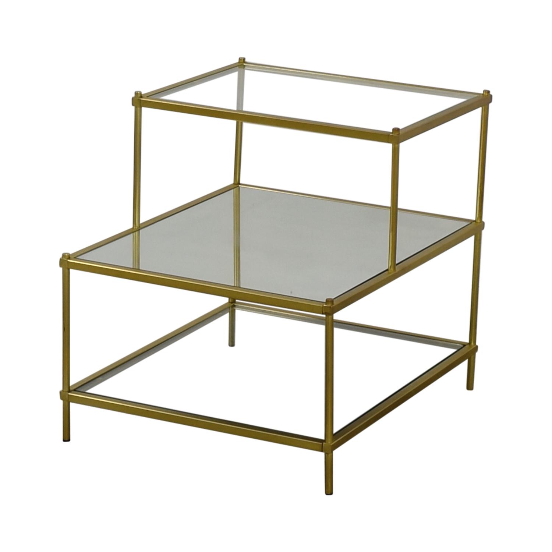 66 off west elm west elm terrace side table tables. Black Bedroom Furniture Sets. Home Design Ideas