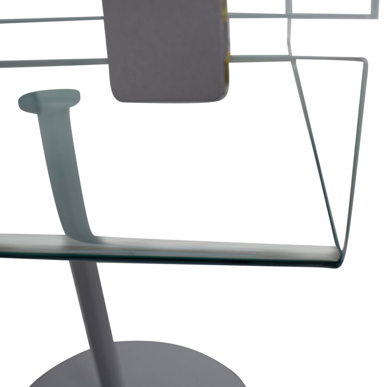 SEE Italian Furniture SEE Italian Furniture Glass Nightstand