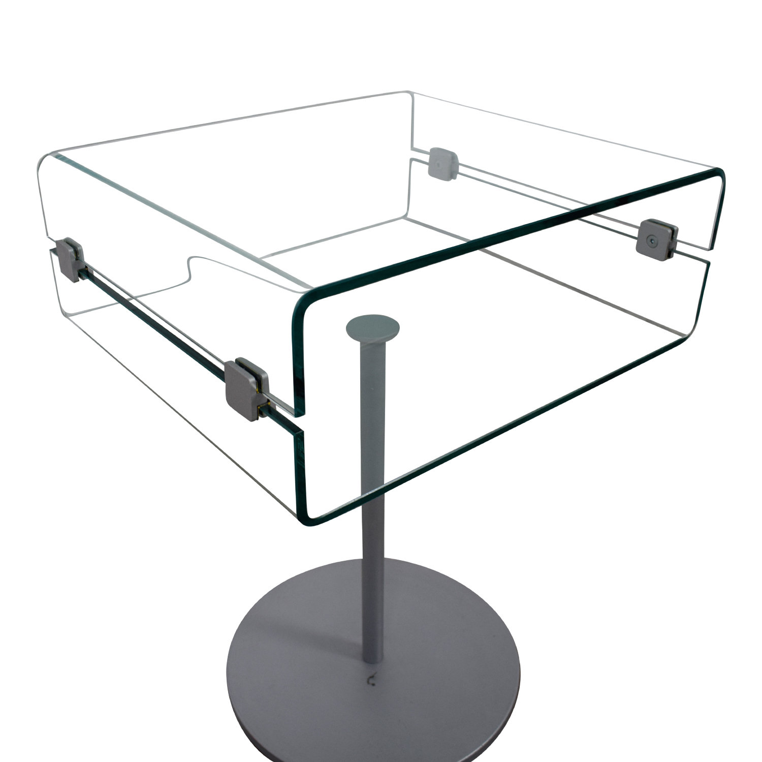 SEE Italian Furniture SEE Italian Furniture Glass Nightstand nj