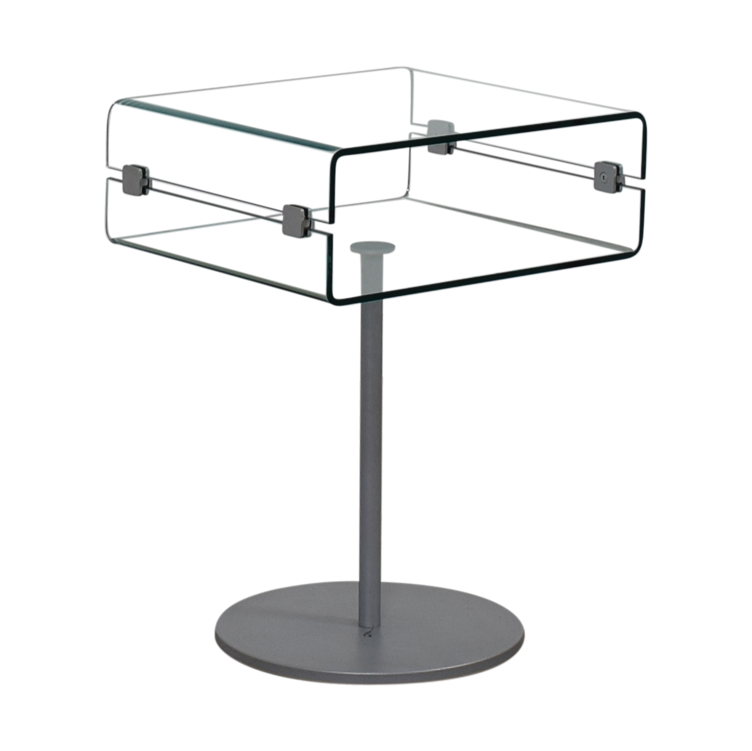 shop SEE Italian Furniture Glass Nightstand SEE Italian Furniture Tables