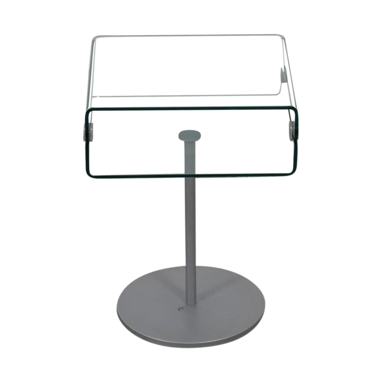 shop SEE Italian Furniture SEE Italian Furniture Glass Nightstand online