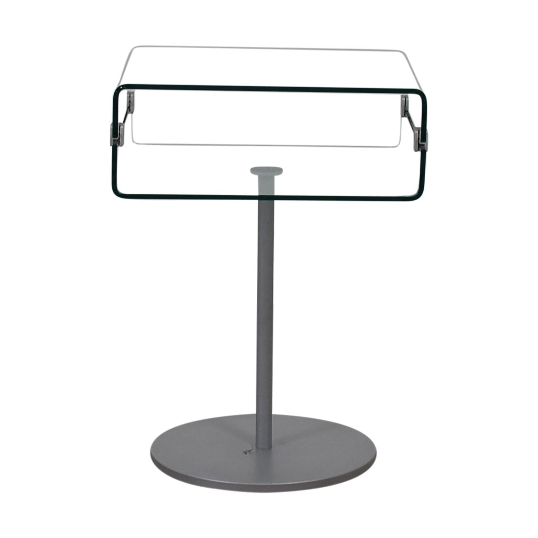 buy SEE Italian Furniture Glass Nightstand SEE Italian Furniture Coffee Tables