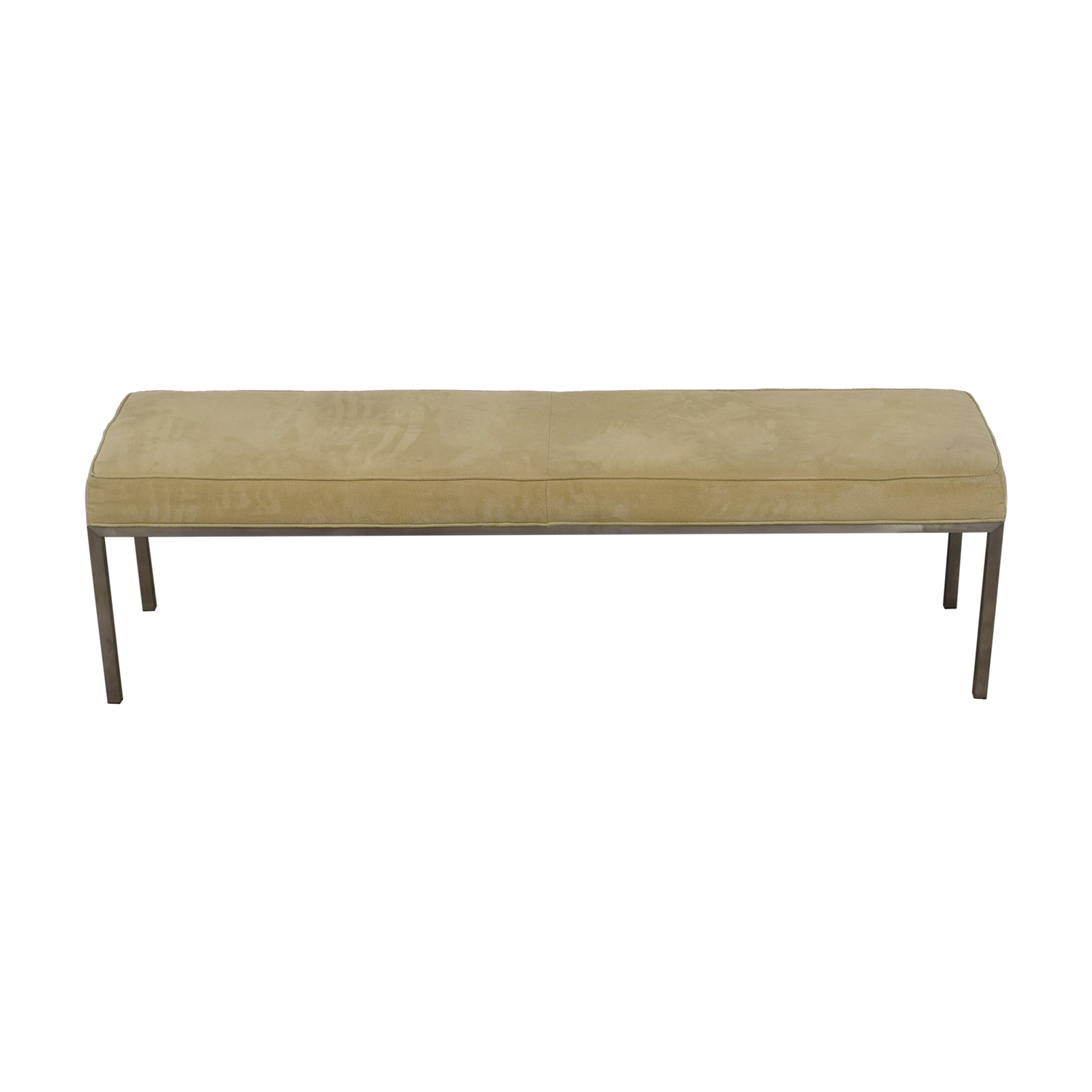 Room & Board Room & Board Portica Beige Custom Bench for sale