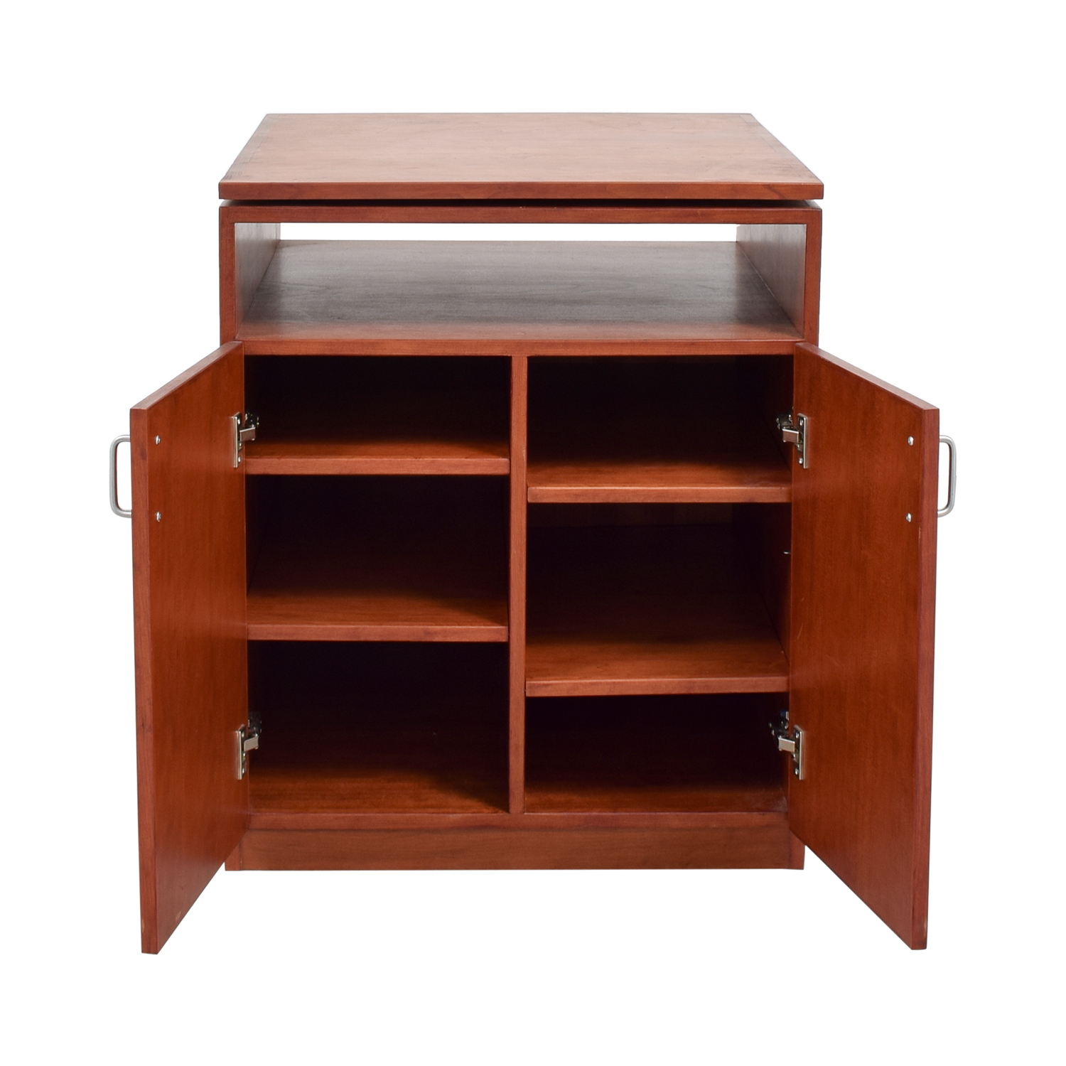 buy 57th Street Bookcase & Cabinet Swivel TV Console 57th Street Bookcase & Cabinet