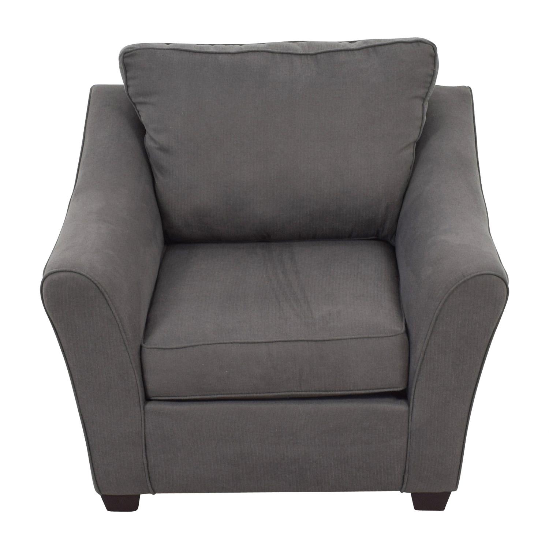 Pilgrim Furniture Pilgrim Furniture Grey Upholstered Chair coupon