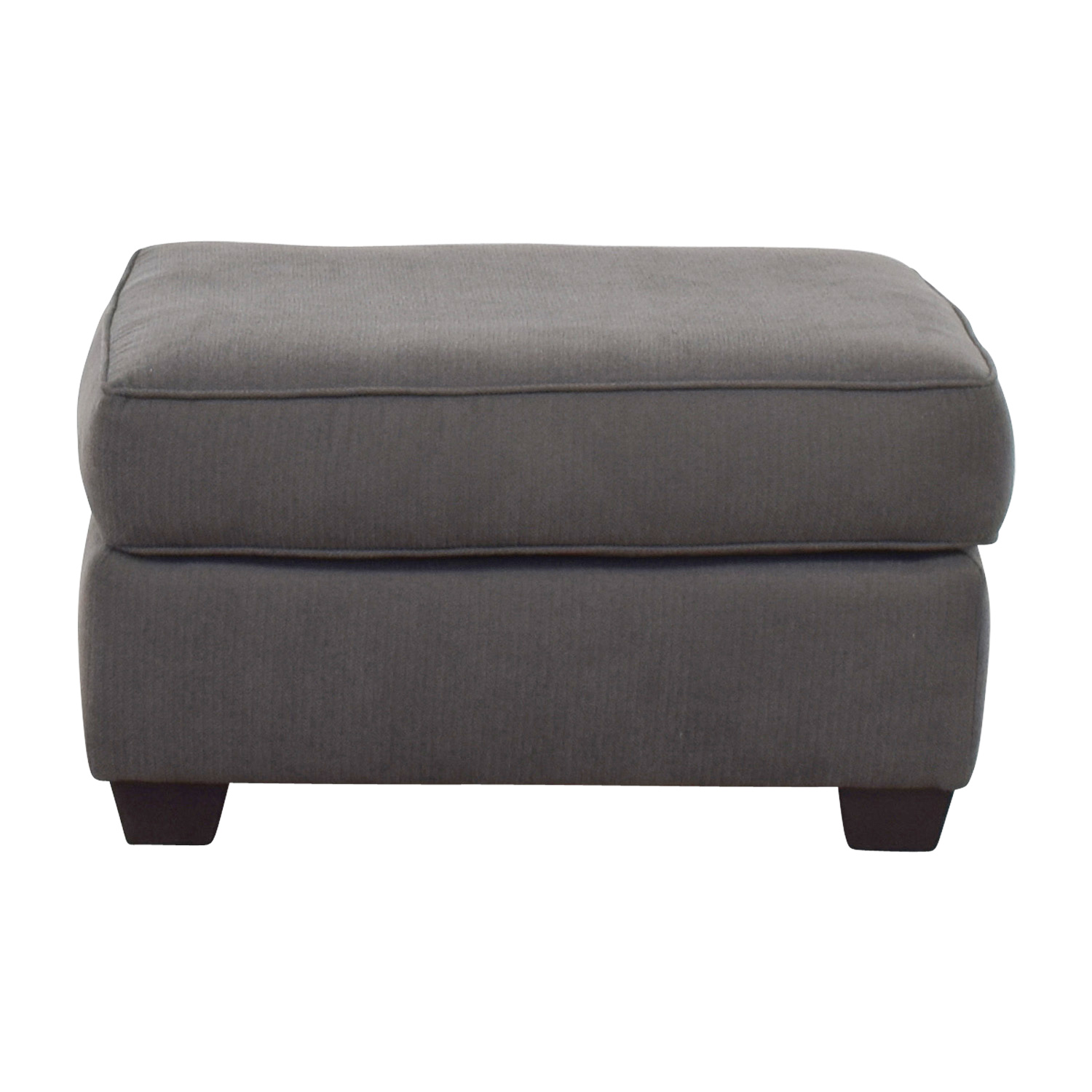 buy Pilgrim Furniture Pilgrim Furniture Gray Ottoman online