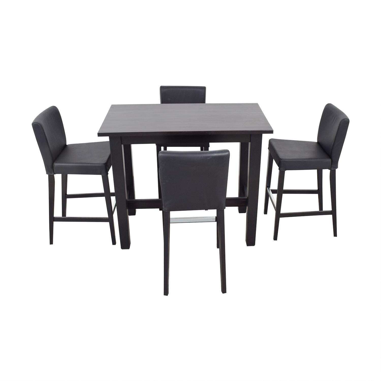 IKEA Bar Height Table and Stools IKEA