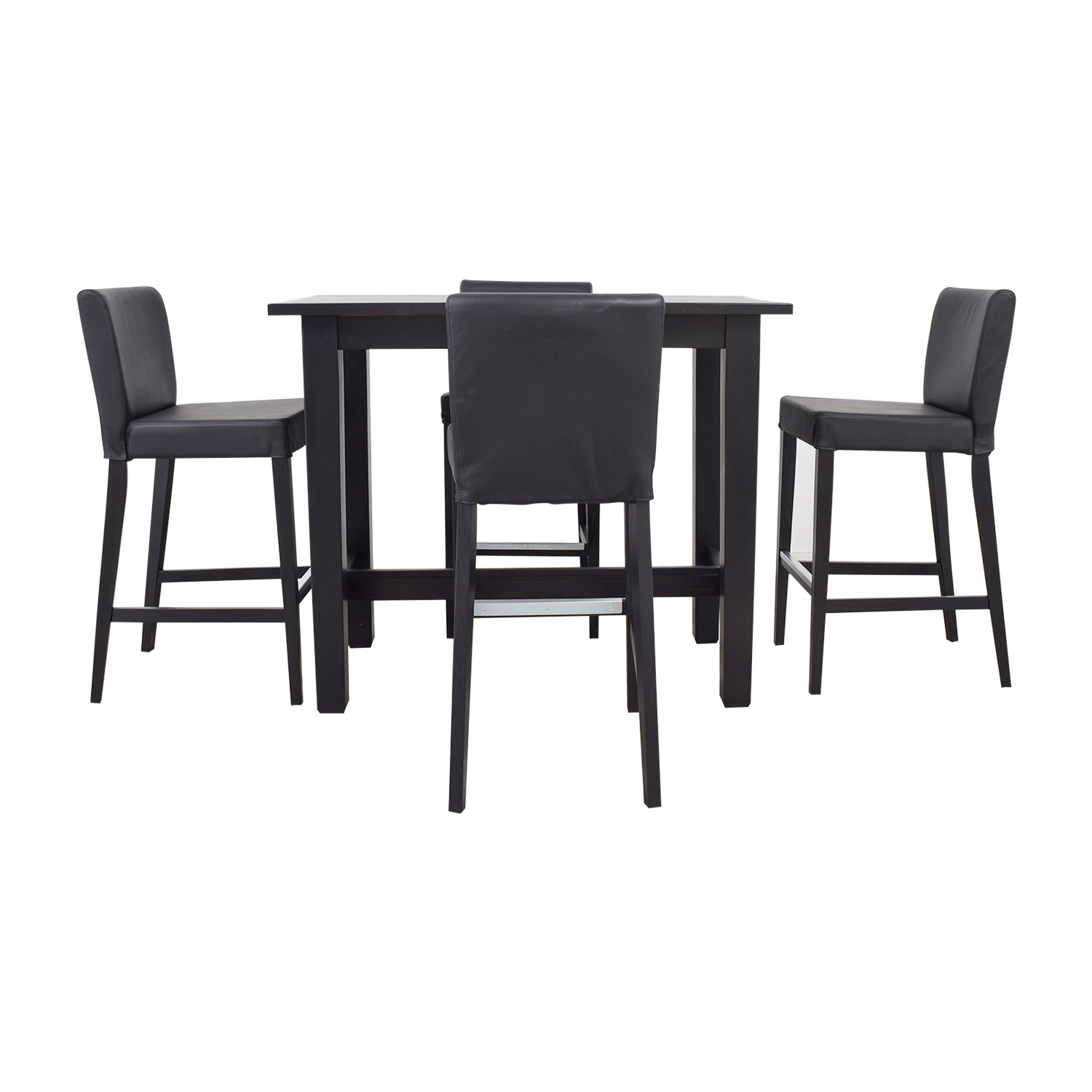 80 off ikea ikea bar height table and stools tables. Black Bedroom Furniture Sets. Home Design Ideas