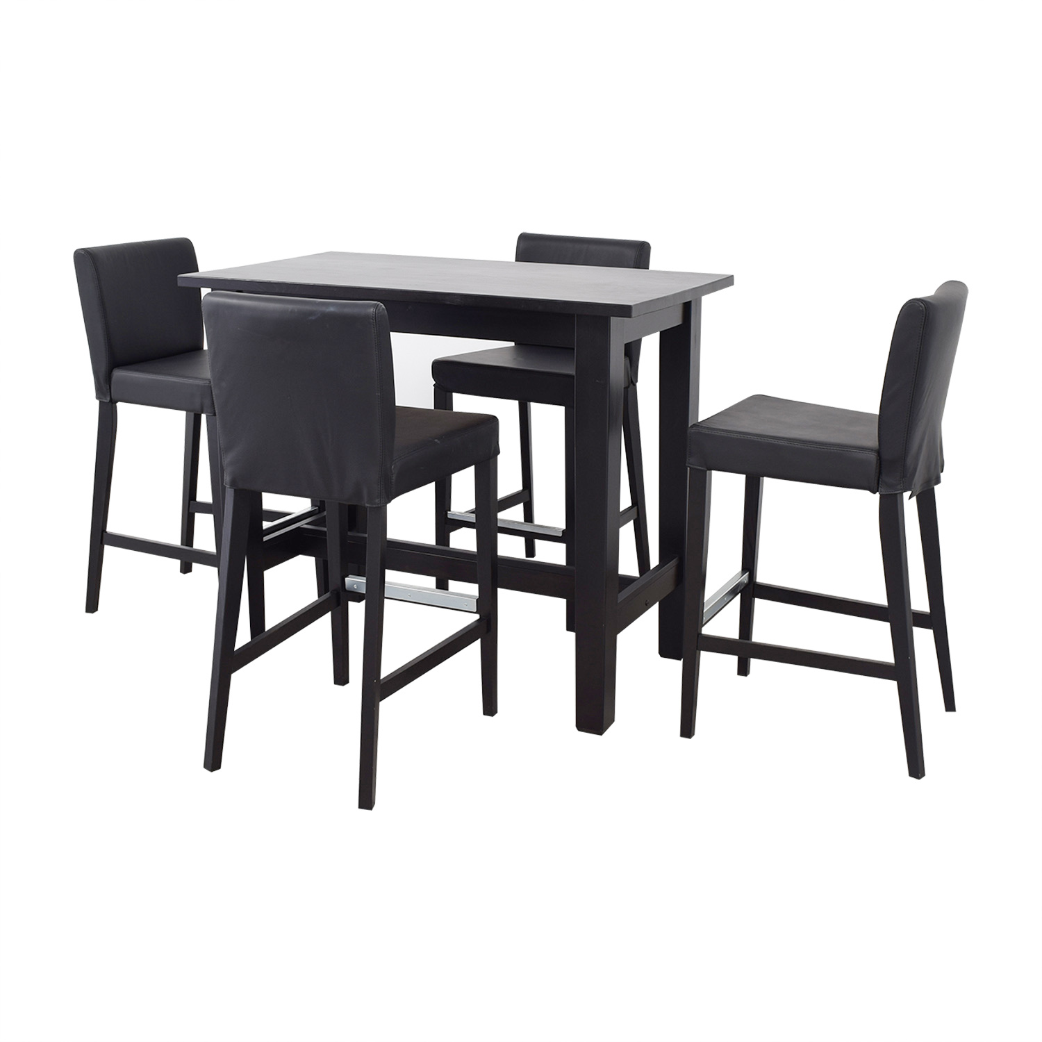 80 Off Ikea Ikea Bar Height Table And Stools Tables