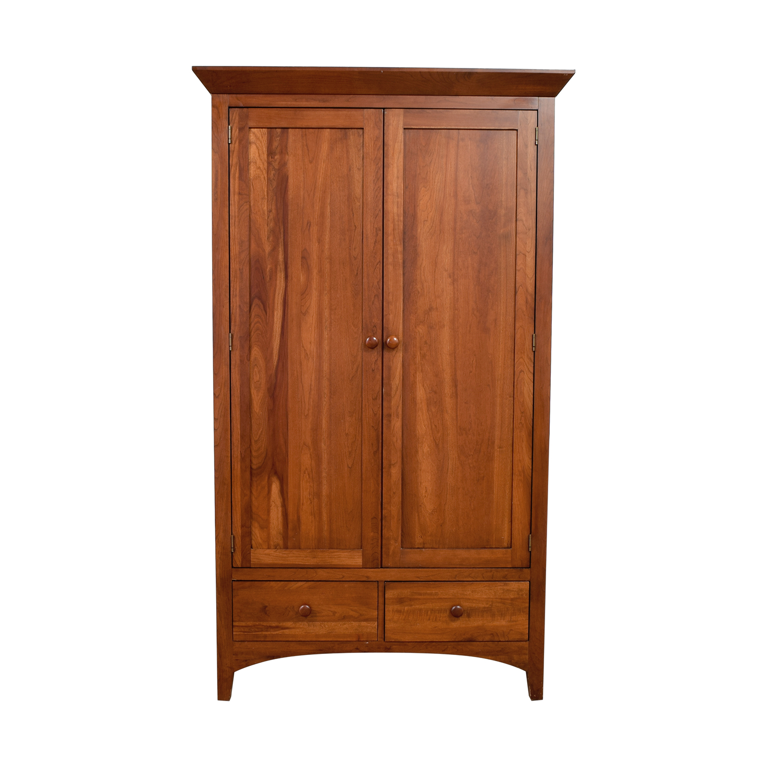 Ethan Allen Wood Five-Drawer Armoire sale