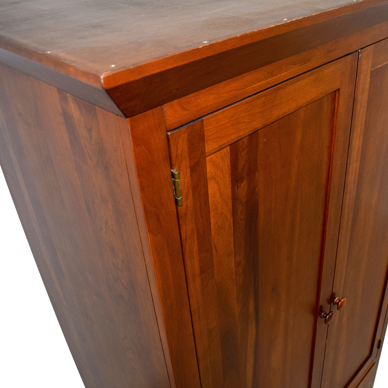 Ethan Allen Ethan Allen Wood Five-Drawer Armoire second hand