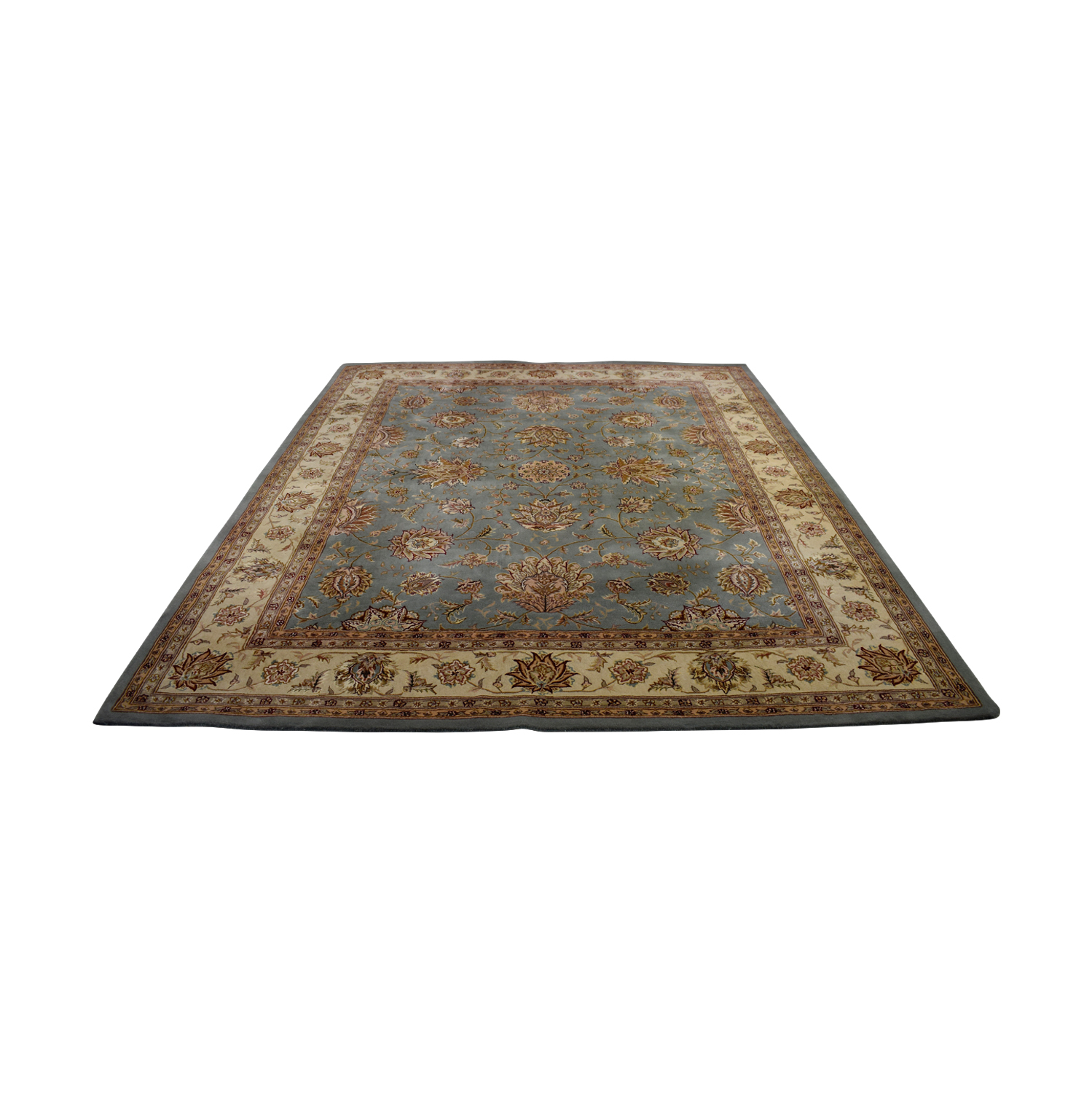 Nourison Nourison New Zealand Wool and Silk Area Rug on sale