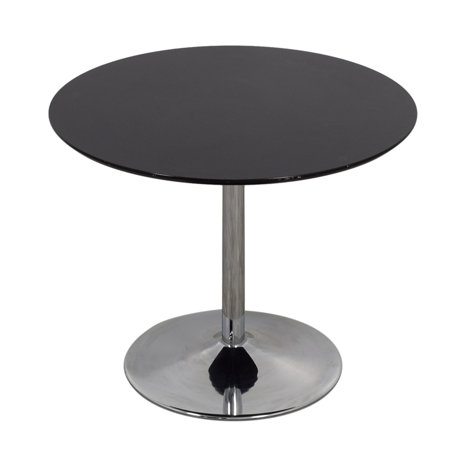 Black Deco Round Table used