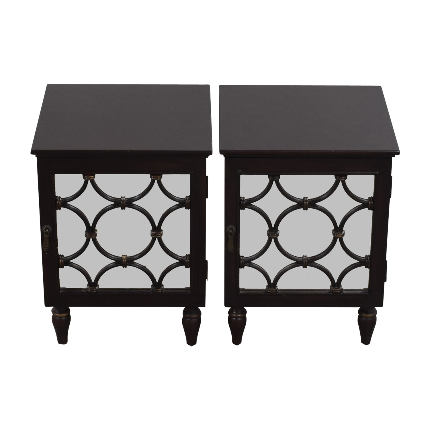 buy Pottery Barn Pottery Barn Mirrored Side Tables online