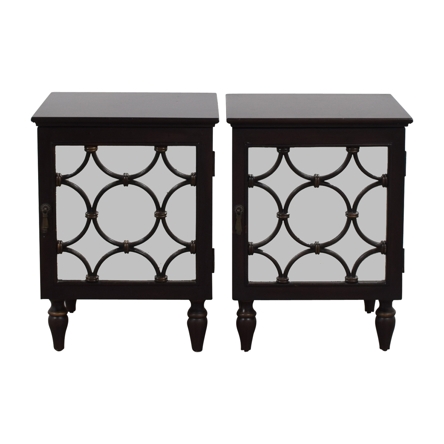 buy Pottery Barn Mirrored Side Tables Pottery Barn Sofas