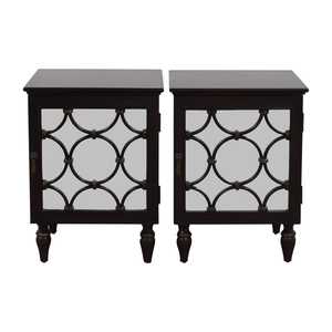Pottery Barn Pottery Barn Mirrored Side Tables
