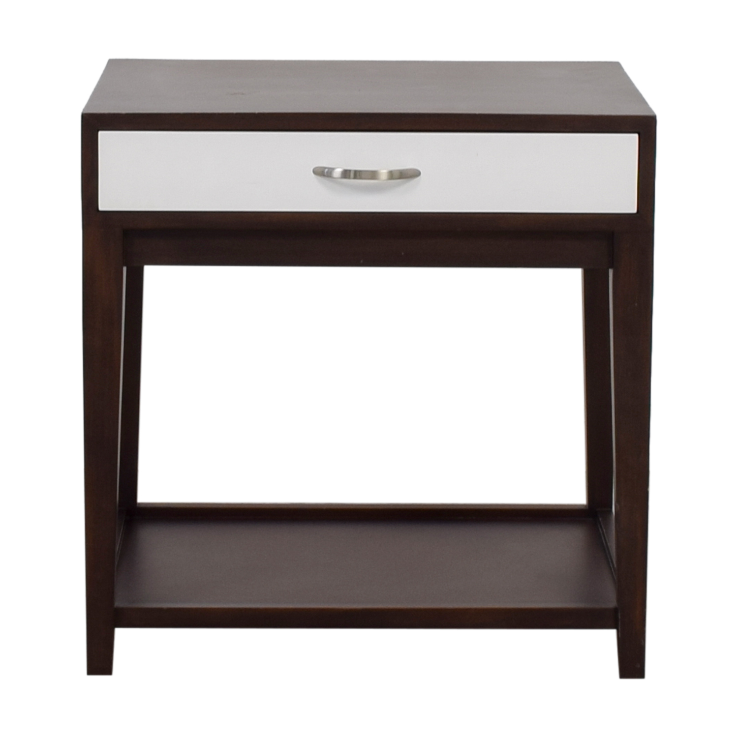 Buccola Buccola Brown and White Nightstand dimensions