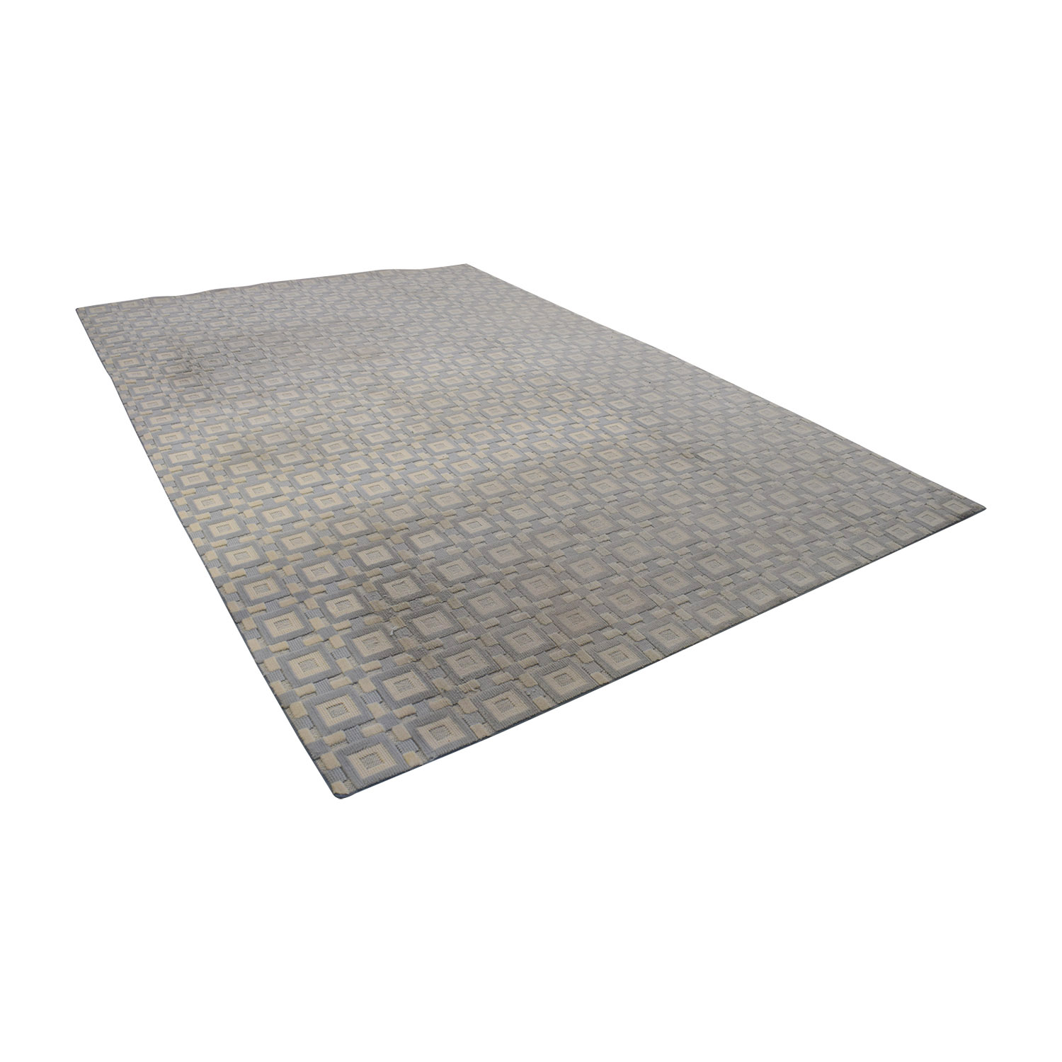 buy Gray and White 9x12 Natural Fiber Rug