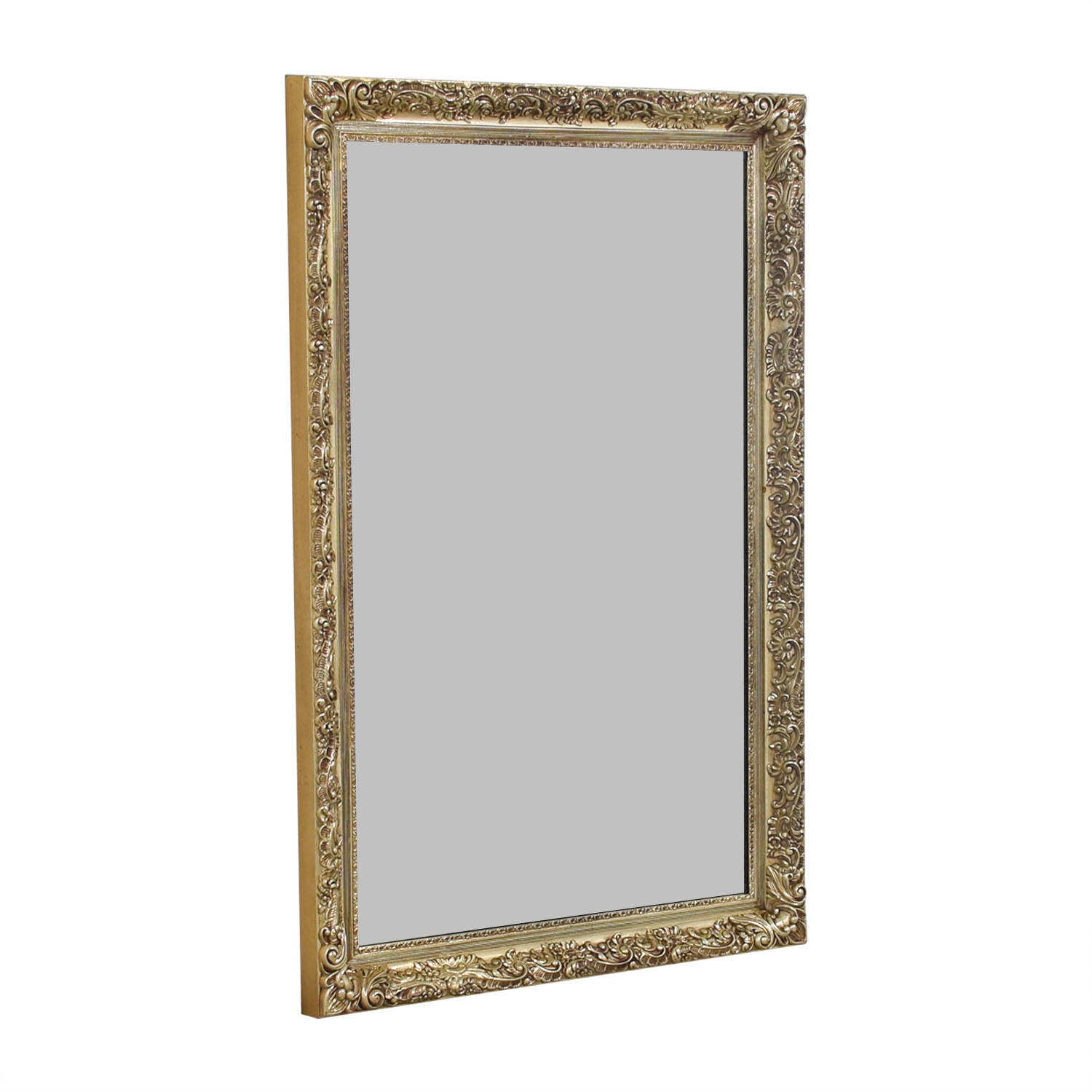 Gold Scroll Mirror / Mirrors
