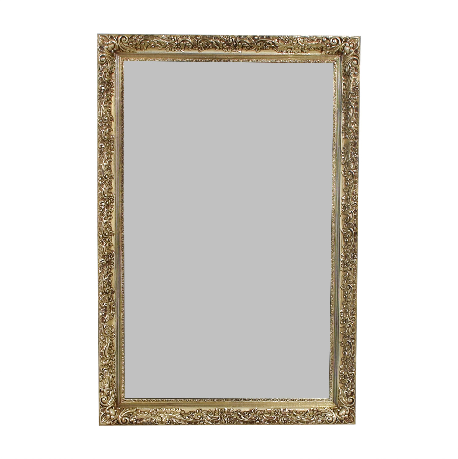 Gold Scroll Mirror on sale