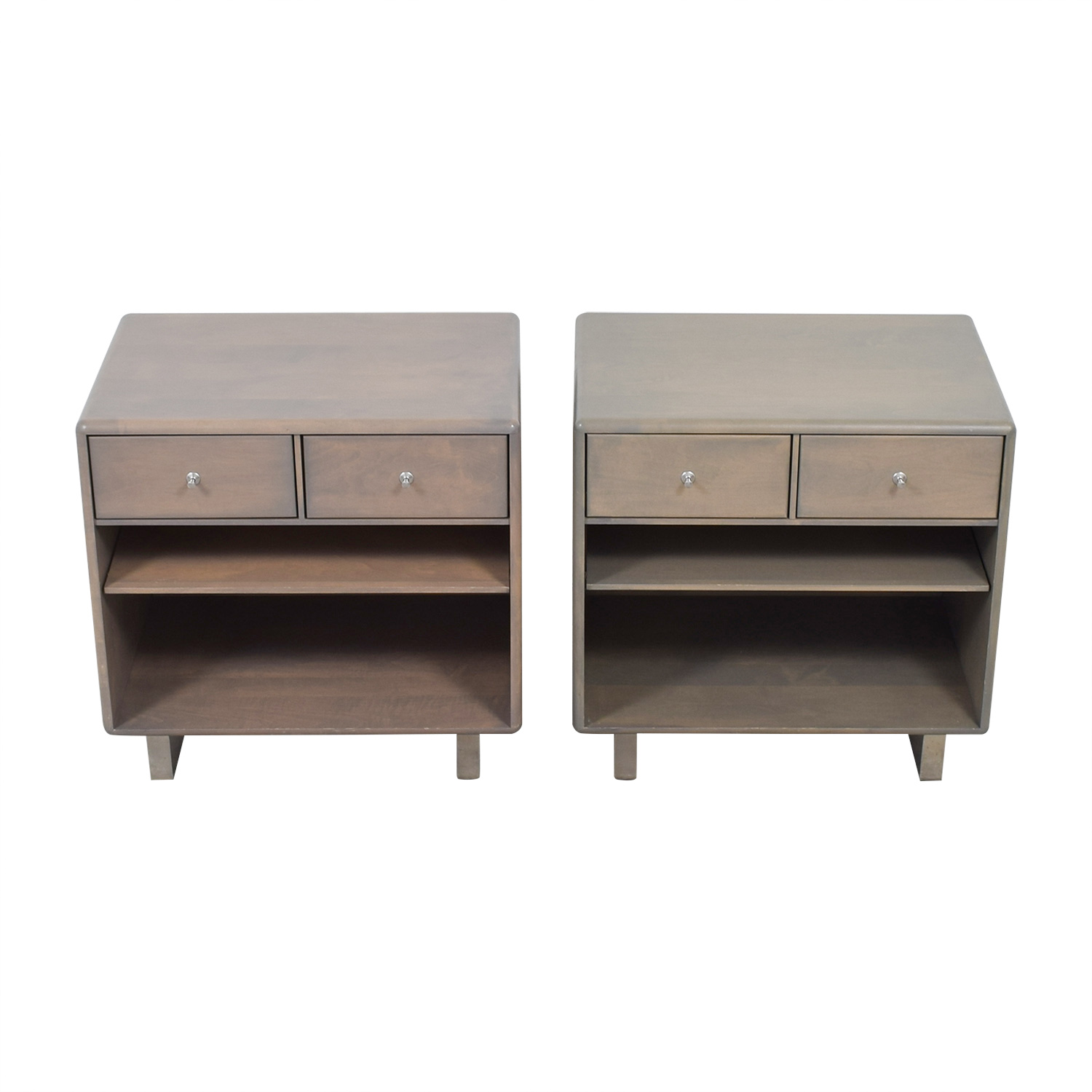 buy Room & Board Whitney Two-Drawer Nightstands Room & Board Tables