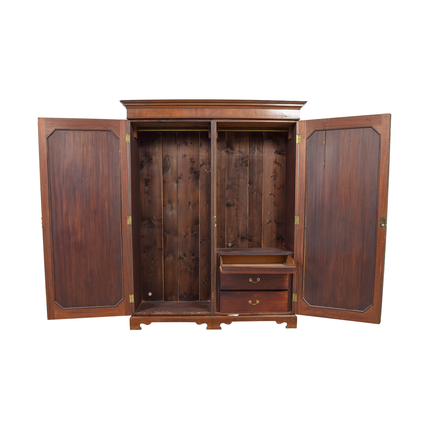 shop ABC Carpet & Home 17th Century English Crotchwood Armoire ABC Carpet & Home Sofas
