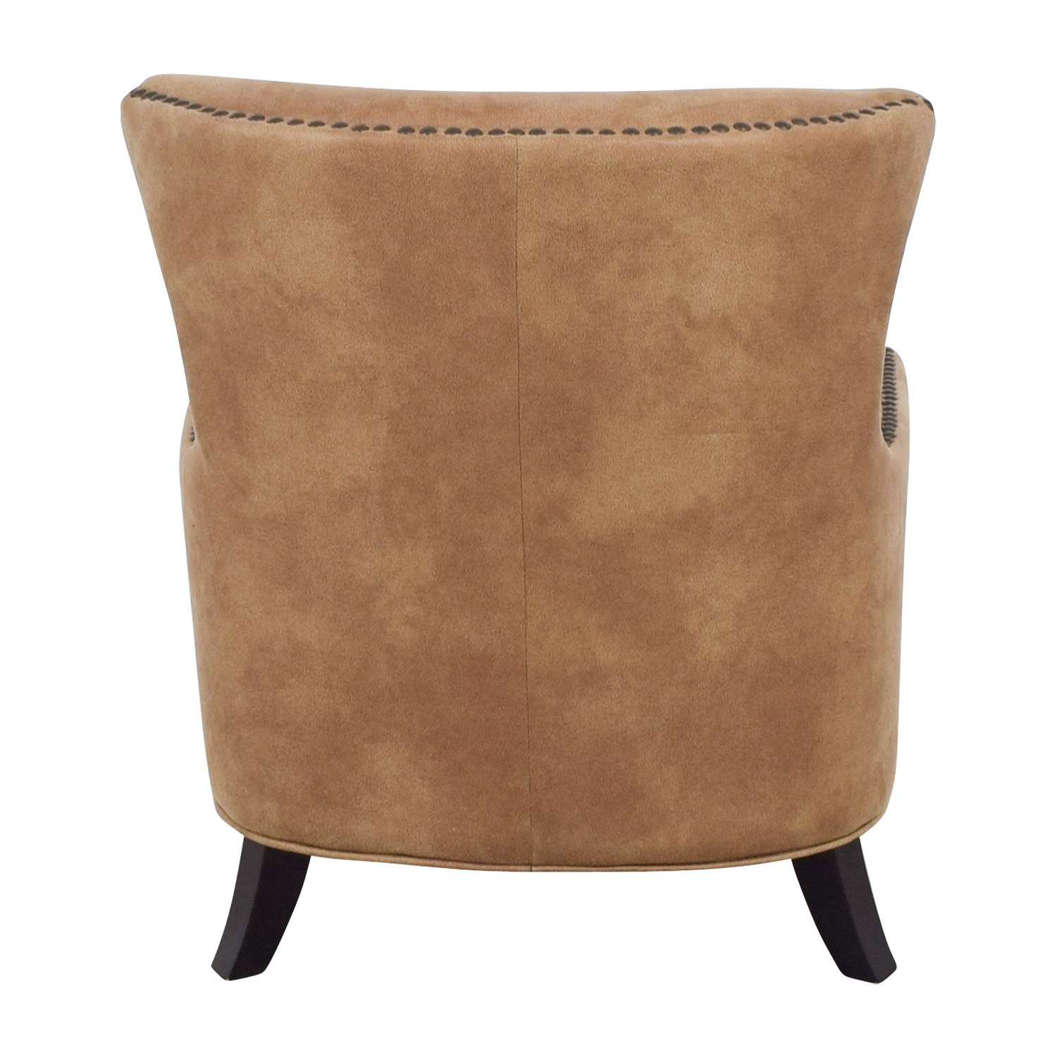shop Joss & Main Joss & Main Nola Brown Nailhead Arm Chair online