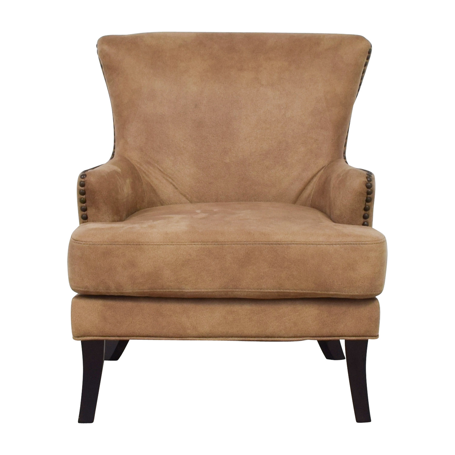 Joss & Main Joss & Main Nola Brown Nailhead Arm Chair coupon
