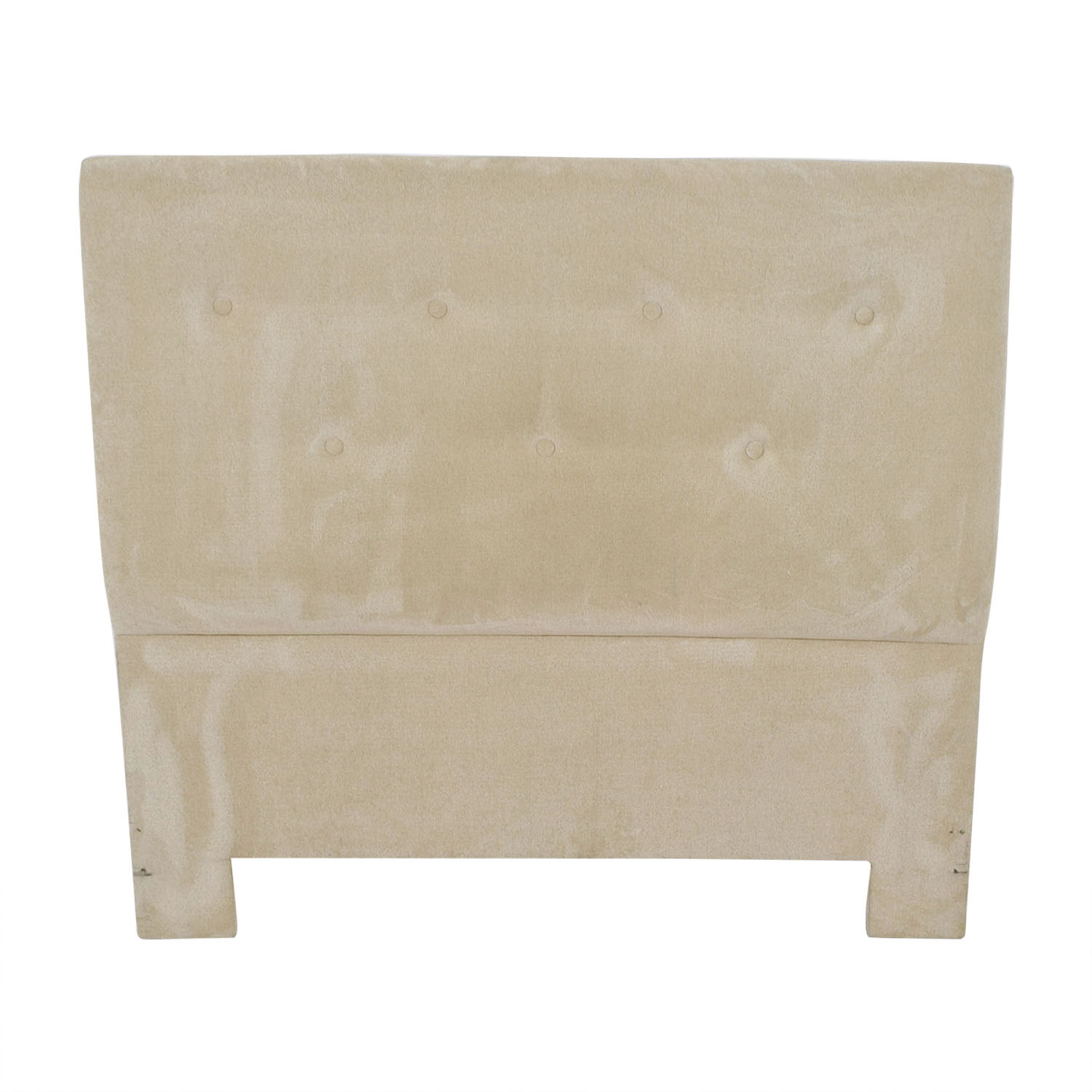 buy Beige Tufted Queen Headboard  Headboards