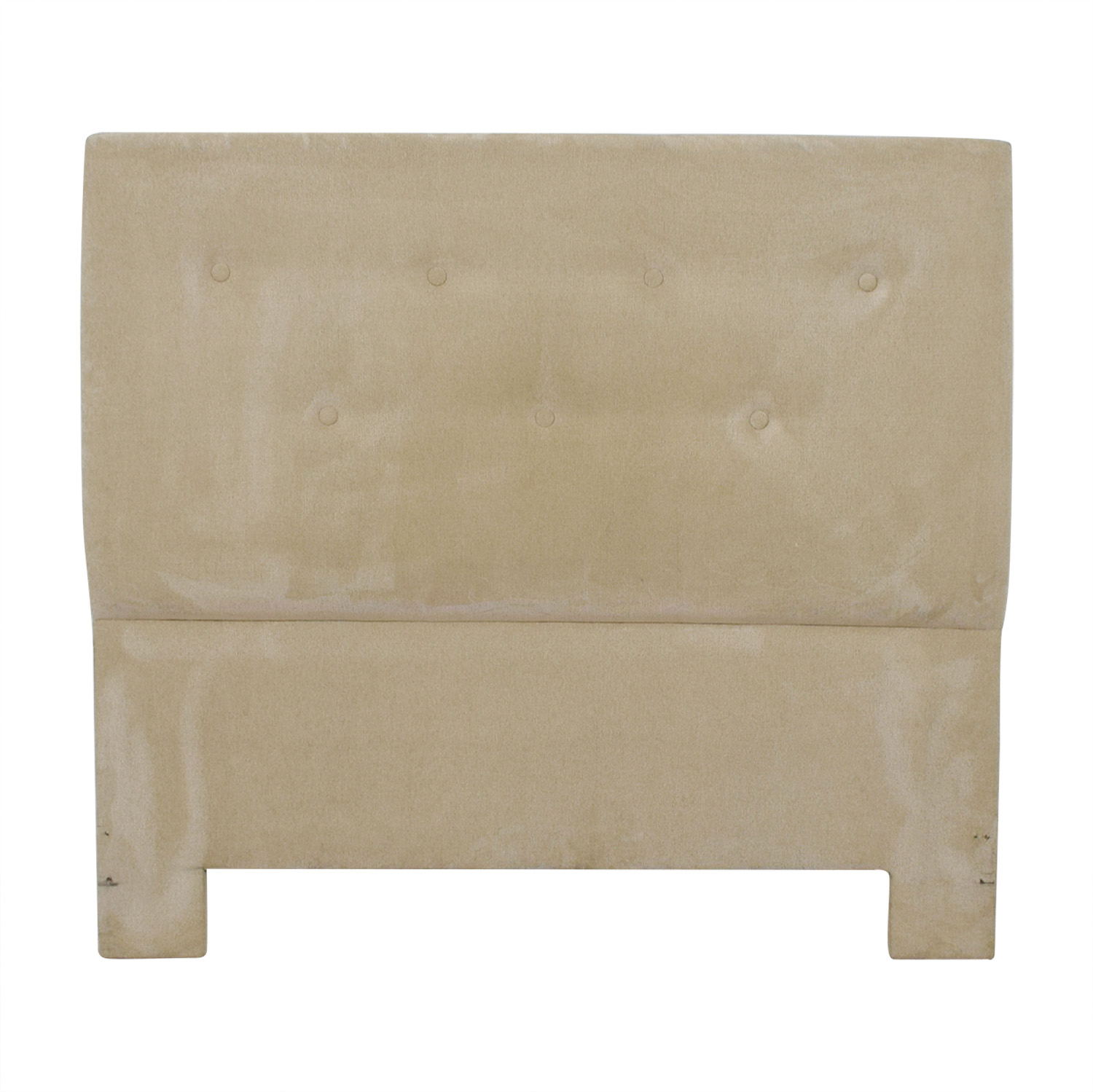 Beige Tufted Queen Headboard paige