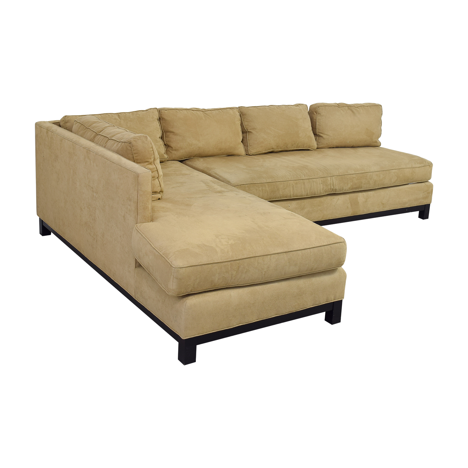 buy Mitchell Gold + Bob Williams Clifton Beige Chaise Sectional Mitchell Gold + Bob Williams
